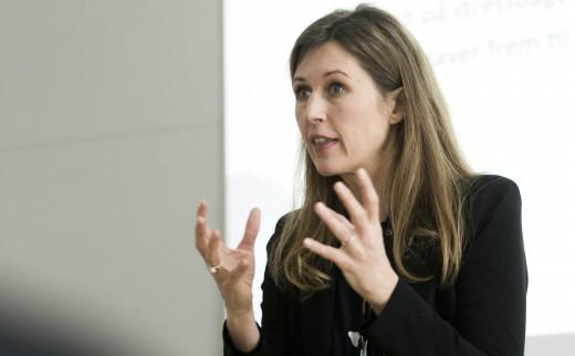 Stresscoach, foredragsholder og forfatter Lisbeth Fruensgaard