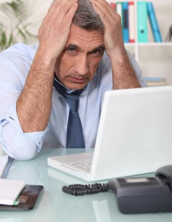 Sådan hjælper du en stressramt