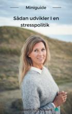 Miniguide. Sådan laver I en stresspolitik, af stresscoach og forfatter Lisbeth Fruensgaard